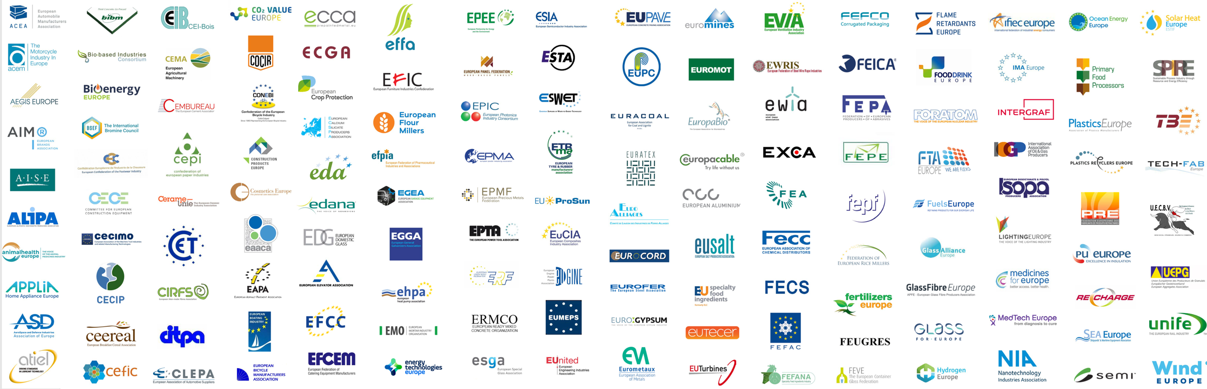 Image with logos of all Signatories