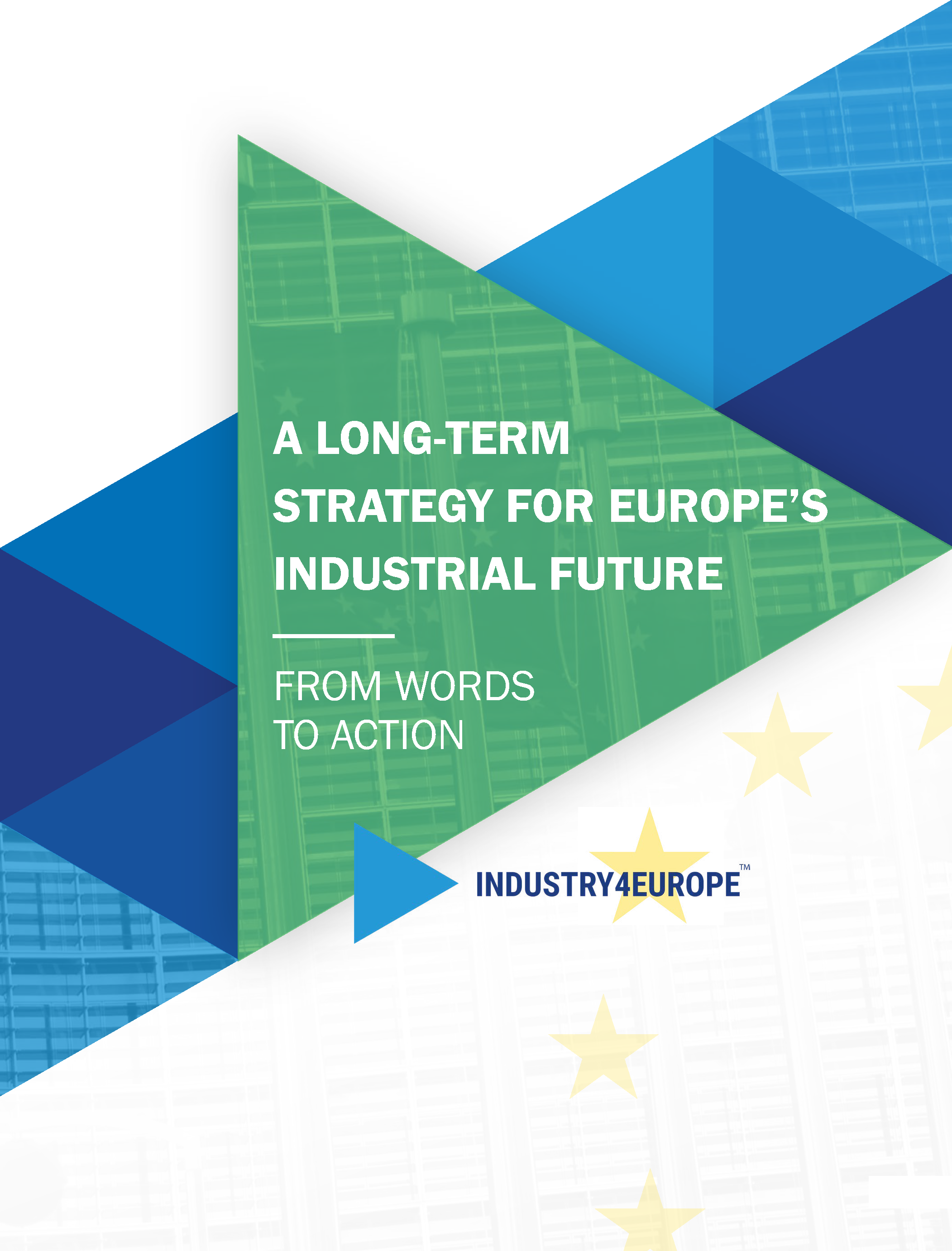 Industry4Europe Cover of the 2019 Joint Paper