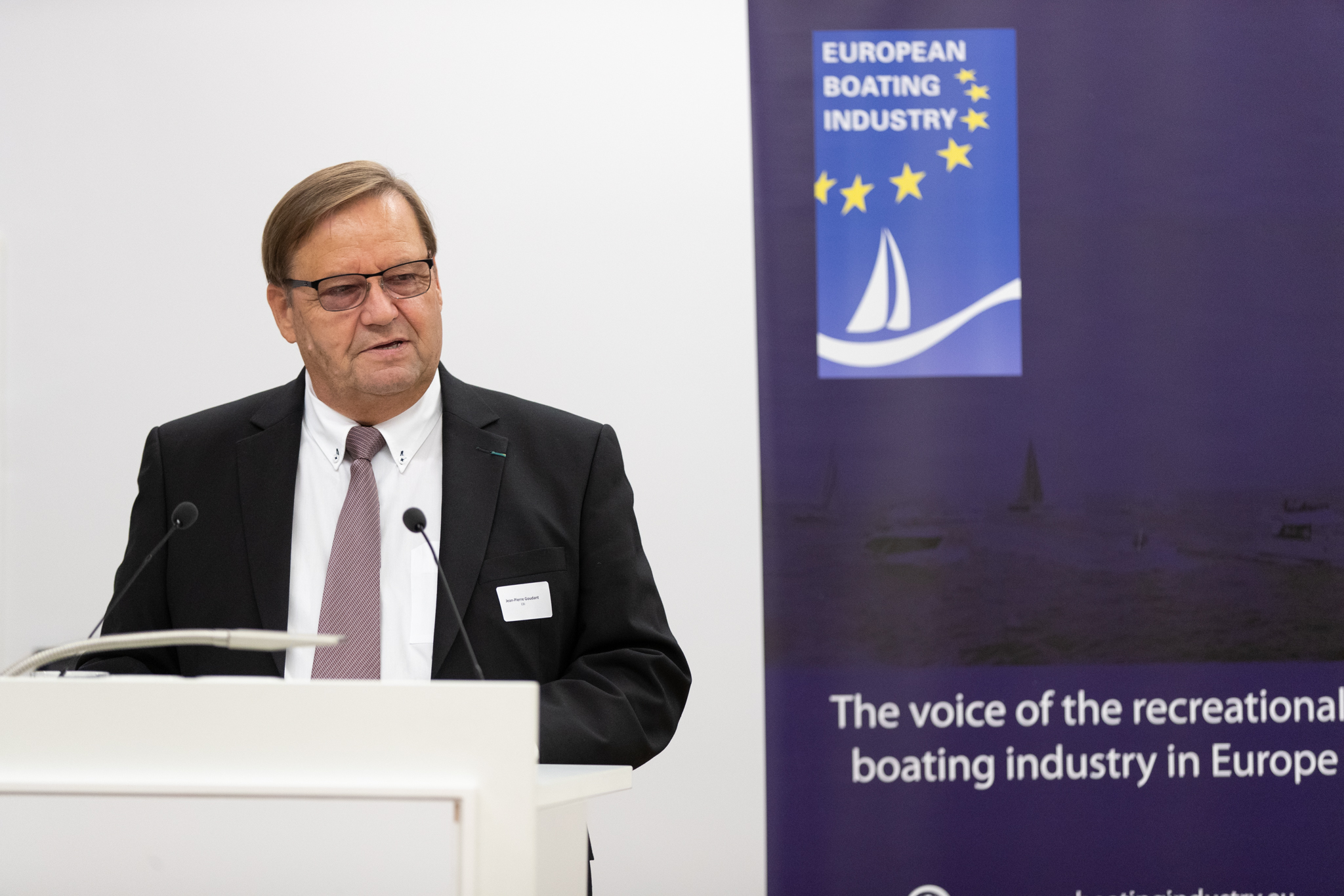 EBI 10 year anniversary   Jean Pierre Goudant (President, EBI)   1