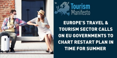 EBI joins Europe's travel and tourism sector in calling on EU governments to chart restart plan in time for summer