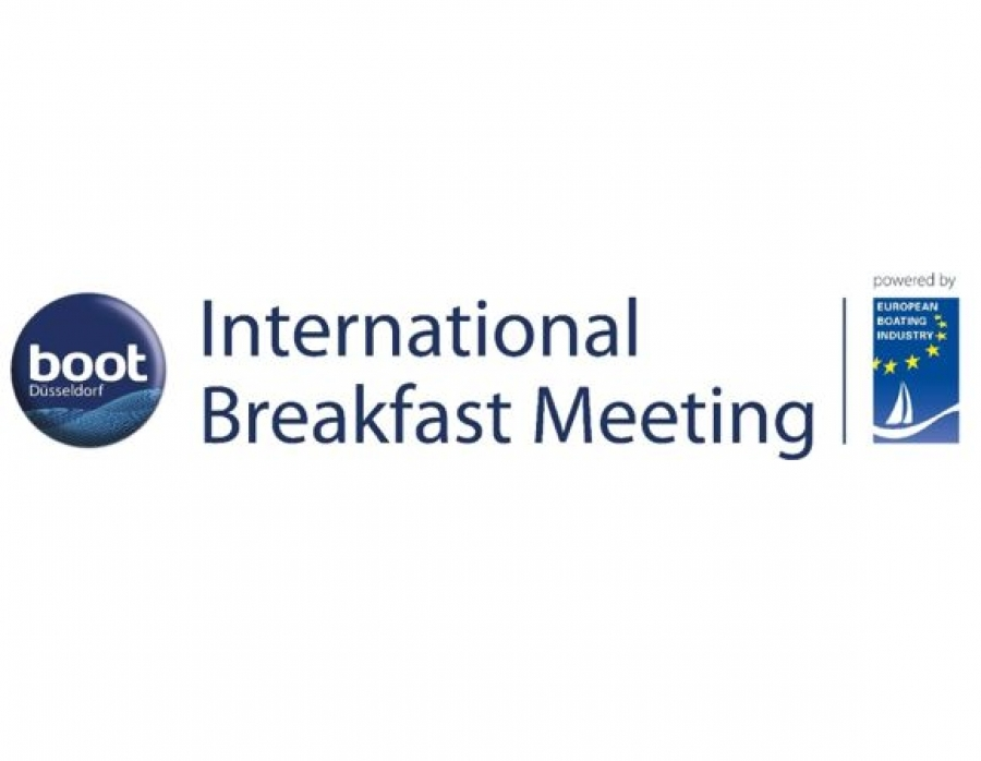 boot Düsseldorf and European Boating Industry lead the way on sustainable boating at International Breakfast Meeting 2020